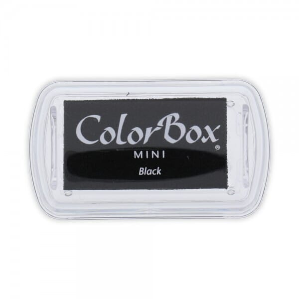 Clearsnap - Colorbox Mini Inkpad Black (6,7 x 3,5 cm)