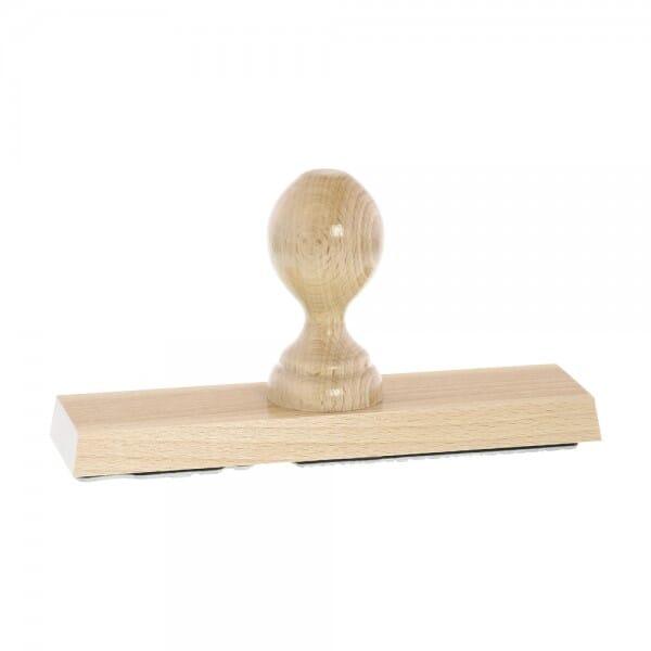 Holzstempel (190x50 mm - 10 Zeilen)